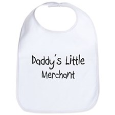 Daddy's Little Merchant Bib