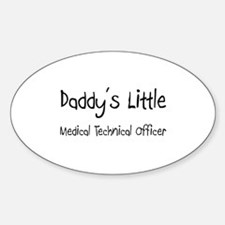 Daddy's Little Medical Technical Officer Decal