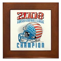 2008 FFL Fantasy Football Hel Framed Tile