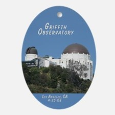 Helaine's Observatory Oval Ornament