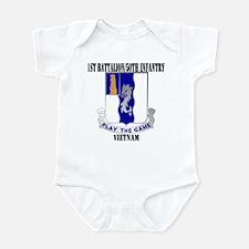 1ST BATTALION 50TH INFANTRY Infant Bodysuit