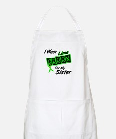 I Wear Lime Green For My Sister 8 BBQ Apron