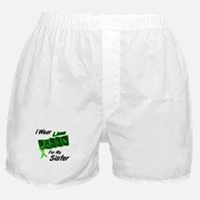 I Wear Lime Green For My Sister 8 Boxer Shorts