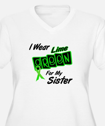 I Wear Lime Green For My Sister 8 T-Shirt