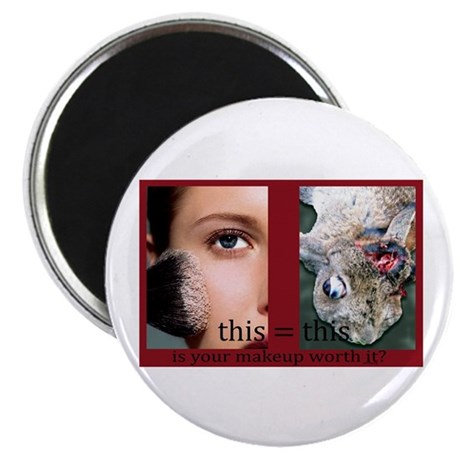 "Makeup Test 2.25"" Magnet (100 pack)"