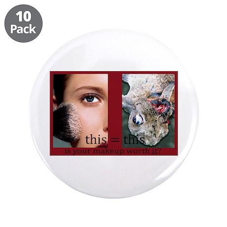 """Makeup Test 3.5"""" Button (10 pack)"""
