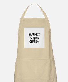 Happiness is being Omarion BBQ Apron