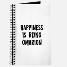 Happiness is being Omarion Journal