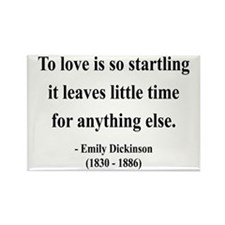 Emily Dickinson 17 Rectangle Magnet