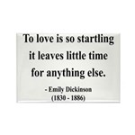 Emily Dickinson 17 Rectangle Magnet (10 pack)