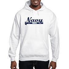 Collegiate Navy Mom II Jumper Hoody