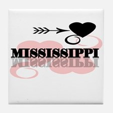 Mississippi Tile Coaster