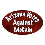 Arizona Votes Against McCain Oval Sticker