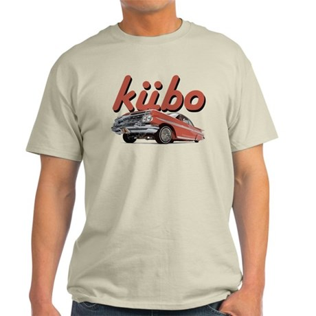 Light T-Shirt kubo lowrider font