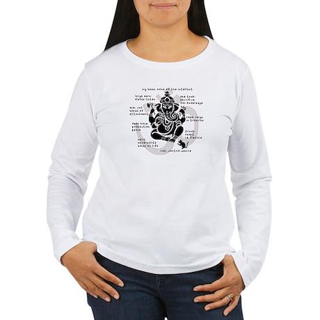 Ganesh 101 Women's Long Sleeve T-Shirt