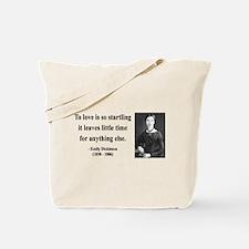 Emily Dickinson 17 Tote Bag