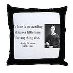 Emily Dickinson 17 Throw Pillow