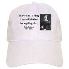 Emily Dickinson 17 Baseball Cap
