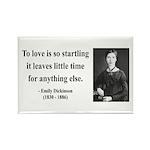 Emily Dickinson 17 Rectangle Magnet (100 pack)