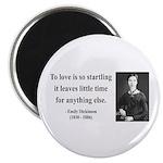 Emily Dickinson 17 Magnet