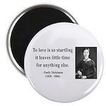 """Emily Dickinson 17 2.25"""" Magnet (100 pack)"""