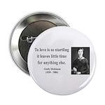 """Emily Dickinson 17 2.25"""" Button"""