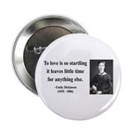 """Emily Dickinson 17 2.25"""" Button (10 pack)"""