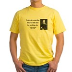 Emily Dickinson 17 Yellow T-Shirt