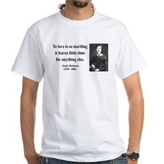 Emily Dickinson 17 White T-Shirt