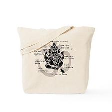 """Ganesh 101"" Tote Bag"