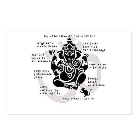 """Ganesh 101"" Postcards (Package of 8)"