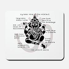 """""""Ganesh 101"""" Mousepad"""