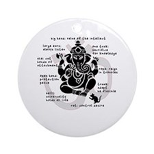 """Ganesh 101"" Ornament (Round)"