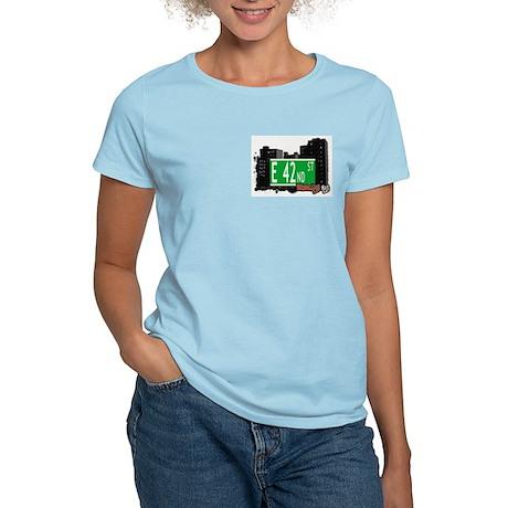 E 42nd STREET, BROOKLYN, NYC Women's Light T-Shirt