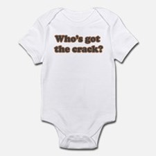Who's Got The Crack? Onesie