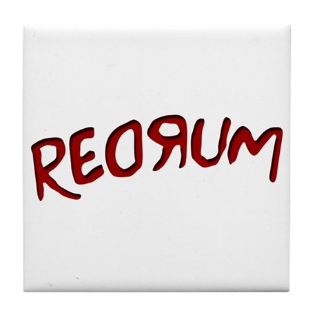 Limited Edition Redrum Tile Coaster