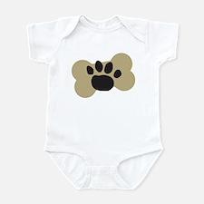 Dog Lover Paw Print Infant Bodysuit