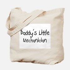Daddy's Little Mechanician Tote Bag