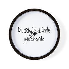 Daddy's Little Mechanic Wall Clock