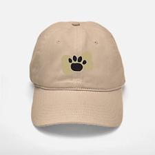 Dog Lover Paw Print Baseball Baseball Cap