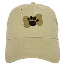 Dog Lover Paw Print Baseball Cap