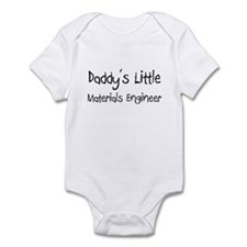 Daddy's Little Materials Engineer Infant Bodysuit