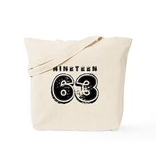 1963 Tote Bag