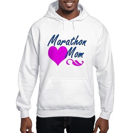 Marathon Mom Hooded Sweatshirt