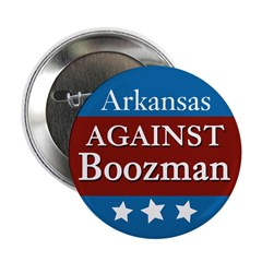 Arkansas Against Boozman campaign button
