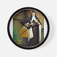 St Teresa of Avila Wall Clock