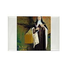 St Teresa of Avila Rectangle Magnet