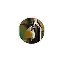 St Teresa of Avila Mini Button (10 pack)