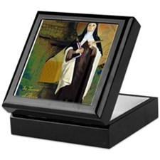 St Teresa of Avila Keepsake Box