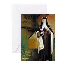 St Teresa of Avila Greeting Cards (Pk of 10)